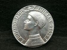 Médaille en Alu de Jeanne d'Arc signée Coeffin-Ref 22