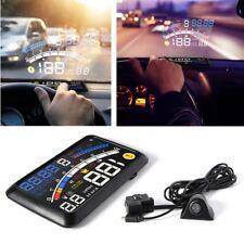 """HUD Head-Up Display 5.5"""" velocità ALLARME Dashboard Montato PROIETTORE UNIVERSALE"""