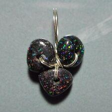 Pendentif argent Opale de fée Australie 1.20ct VIDEO Fairy opal pendant matrix