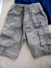Toddler boys Koala Kids light olive green pants with Eagle design size 3 to 6 mo