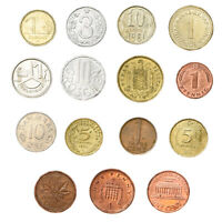 SET OF 15 COINS FROM 15 DIFFERENT COUNTRIES COINS LOT