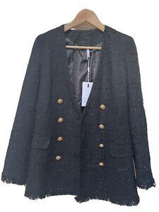 Ladies Blazer Jacket (Chanel/Balmain Style) BRAND NEW