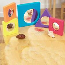 Pack of 5 Foam Surround  Arcylic  Mirrors Educational Learning Preschool