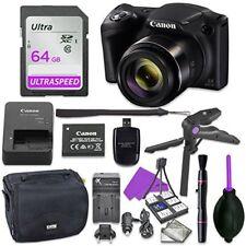 Canon Powershot Sx420 Point & Shoot Digital Camera Bundle (Black)