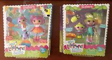 NIP Mini Lalaloopsy Dolls Littles Sisters Lot Pix E Twinkles Peanut & Squirt NEW