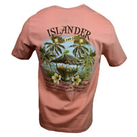 "ISLANDER Men's T-shirt ""Island Shores"" Bahama Mama Tequila Fathers Day Gift"