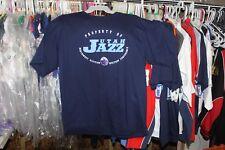 Utah Jazz T-Shirt Navy Blue (XL) Extra Large (46-48) NWT