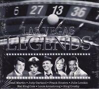 Las Vegas Legends (21 tracks) Frank Sinatra, Dean Martin, Matt Monro, Bil.. [CD]