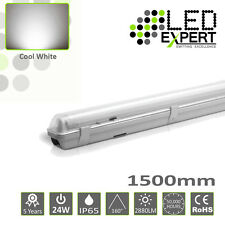 LED Expert Single 5FT 1500mm 24w IP65 LED Batten Light Non Corrosive 150cm