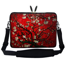 "17.3"" Laptop Computer Sleeve Case Bag w Hidden Handle & Shoulder Strap 3003"