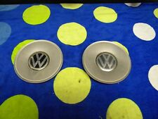 1999 - 2004 Vokswagen Passat -- Wheel Center Caps -- 1 pair -- Silver