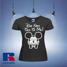Disney Minnie Mouse Womens T-shirt Tops & Shirts