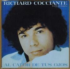 """RICHARD COCCIANTE 7""""PS Spain 1980 Al calor de tus ojos ( In Spanish )"""