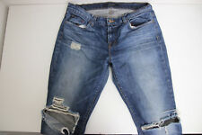 J Brand Womens Ringer Jeans Slim Size 28 mid rise Distressed Destroyed