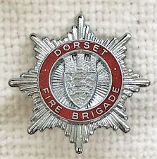 Dorset Fire Brigade cap badge.