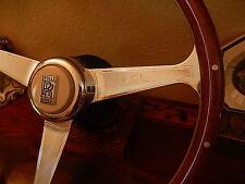 """Rolls Royce Silver Spur Wood Steering Wheel Nardi 15.3"""" NOS NEW"""