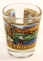 ARKANSAS STATE WRAPAROUND SHOT GLASS SHOTGLASS