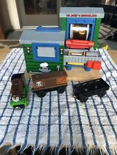 Thomas & Friends Wooden Railway ~ Mr. Jolly's Chocolate Factory ~Rare 2003 HTF!