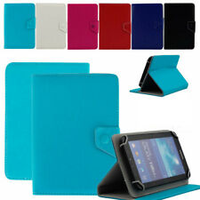 For 9.7inch 10inch 10.1inch Tablet Universal Adjustable Plain Leather Case Cover