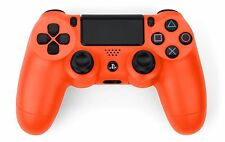 TNTi T-3 Custom Orange Official Playstation 4 Dualshock Wireless Controller PS4