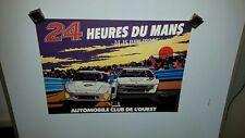 Le Mans 24 Hour 1980 Original Race Poster