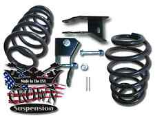 """2"""" Rear Lowering Coils Springs Drop Kit w/ Shock Ext. Fits 2000-2006 Chevy Tahoe"""