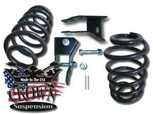 "2"" Rear Lowering Coils Springs Drop Kit w/ Shock Ext. Fits 2000-2006 Chevy Tahoe"