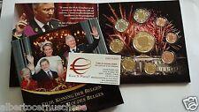 2014 Belgio 8 monet 3,88 EURO Belgium Belgica belgique Filip Philippe Koning Roi