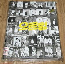EXO EXO-K XOXO REPACKAGE GROWL Kiss Version CD + PHOTOBOOK + FOLDED POSTER NEW