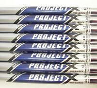 Rifle Project X 4.0 Regular/Senior flex set A/R 4-PW+SW 8 HL Shafts Parallel 370