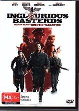 INGLOURIOUS BASTERDS - DVD R4 (2009) Brad Pitt Christoph Waltz - LIKE NEW