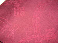 NWT Ralph Lauren LAUREN Scarf Wrap Red/Cranberry Equestrian Theme w Fringe