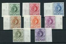 Swaziland 1938-54 perf 13½x14 short set to 2/6 fine MNH SG28a/36b (exc 3d)