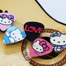 10 Hello Kitty Guitar Picks Accessories ABS Plectrums Bundle Lot Spare .71 mm