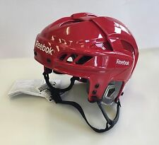 New Reebok 11K NHL/AHL Pro Stock/Retu​rn helmet medium M size ice hockey red
