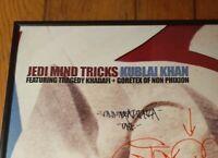 Signed/Framed Vinnie Paz Jedi Mind Tricks Non Phixion Goretex VINYL Autographed