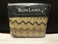 Vintage Ralph Lauren Queen Flat Sheet Auckland New Zealand Fairisle Nazomi