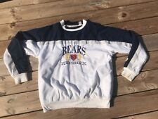 Vintage 90s Chicago Bears 1990s Logo 7 NFL Football Sweatshirt Large Lined