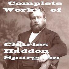 Charles Haddon Spurgeon Bible Study Reading Christian Book God Jesus on DVD CD