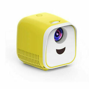 Class Mini Kids HD HDMI USB Portable Projector With Built In Speaker L1 - Yellow