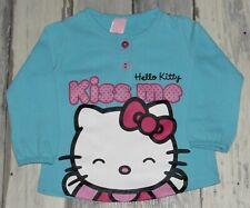 Filles hello kitty débardeur pack 3 imprimé 12 18 24 mois bébé neuf