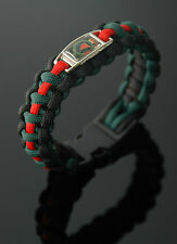 Royal Ulster Constabulary Badged 550 Paracord Bracelet
