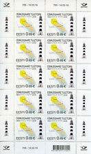 Estonia 2019 MNH Osmussaare Lighthouse 10v M/S Lighthouses Architecture Stamps