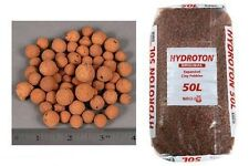 4L Liters HYDROTON Clay Pebbles Hydroponic Expanded Rocks FREE SHIPPING LOW COST