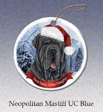 Define Naughty Ornament - Uncropped Neapolitan Mastiff