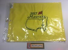 2017 NEW Masters Flag Embroidered Augusta National Golf Pin Flag Sergio Garcia
