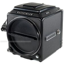 Black Hasselblad 501CM Body Only with Waist Level Finder + Acute Matte Screen