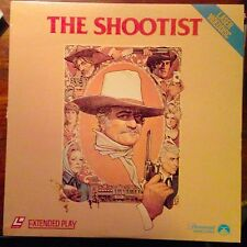 The Shootist -  Laserdisc Buy 6 for free shipping