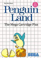 Penguin Land SEGA Master System Framed Print (Man Cave Picture Poster Game Art)