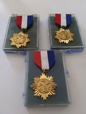 New listing (3) Cool Companion Dog Medal Ribbons Vintage Awards Agility Cd Cdx Ud Neat Italy